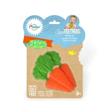 Детский прорезыватель для зубов LittleToader Морква