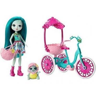 Игровой набор Enchantimals Прогулка на велосипеде
