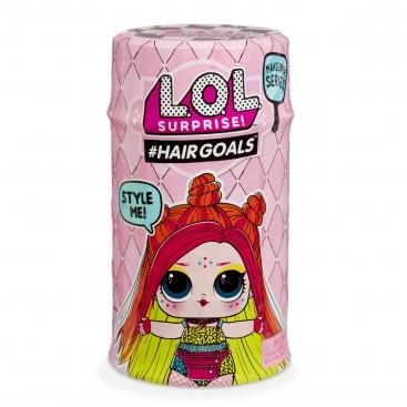 Игровой набор с куклой LOL Surprise S5 W2 серии Hairgoals Модное Перевоплощения